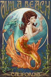 Avila Beach, California - Mermaid by Lantern Press