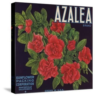 Azalea Brand - Porterville, California - Citrus Crate Label