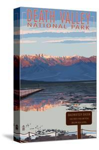 Badwater - Death Valley National Park by Lantern Press