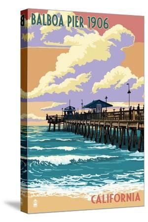 Balboa, California - Balboa Pier since 1906