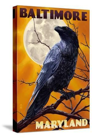 Baltimore, Maryland - Raven and Moon
