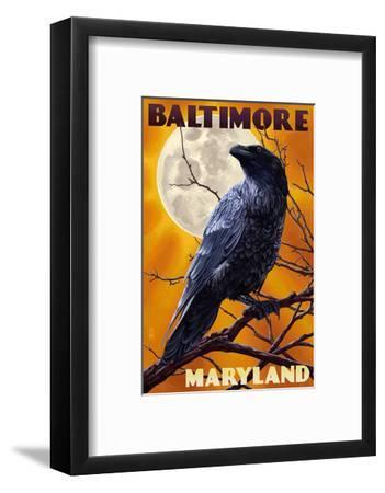 Baltimore, Maryland - Raven and Moon