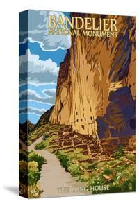 Bandelier National Monument, New Mexico - The Long House by Lantern Press