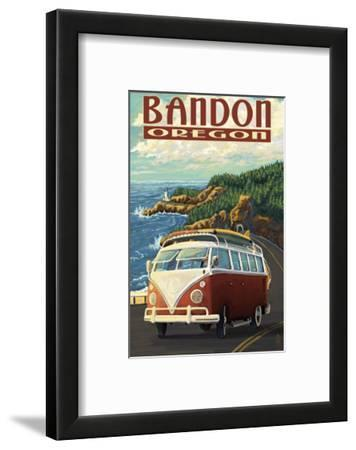 Bandon, Oregon - VW Van Coast Scene