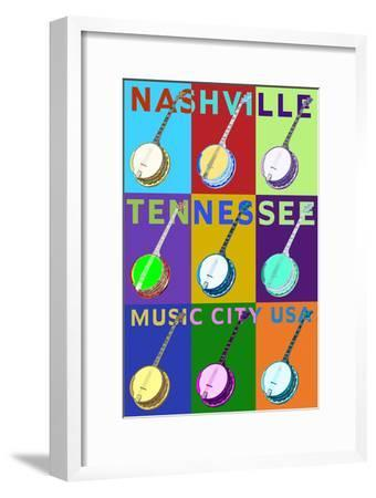 Banjo Pop Art - Nashville, Tennessee