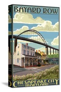 Bayard Row - Chesapeake City, Maryland by Lantern Press