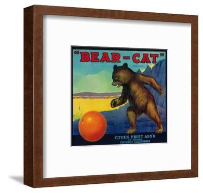 Bear Cat Orange Label - Ontario, CA