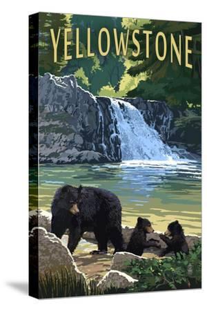 Bear Family - Yellowstone by Lantern Press