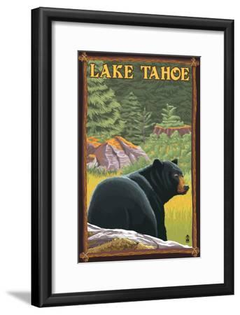 Bear in Forest - Lake Tahoe, California