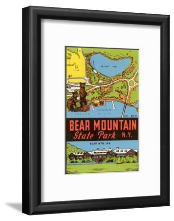 Bear Mountain State Park - Vintage Window Decal