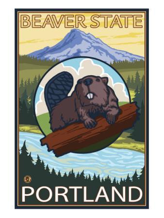 Beaver & Mt. Hood, Portland, Oregon