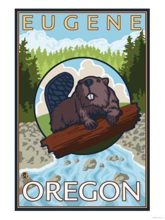 Beaver & River, Eugene, Oregon