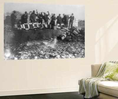 Beer Bottles Smashed During Prohibition Photograph - Washington, DC
