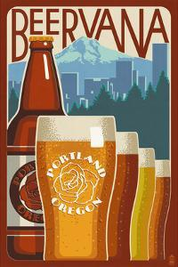 Beervana - Portland, Oregon by Lantern Press