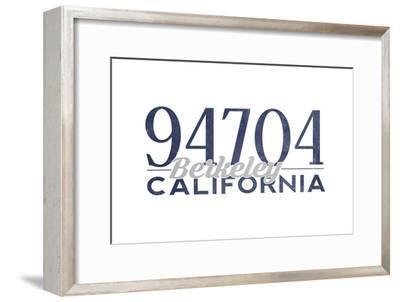 Berkeley, California - 94704 Zip Code (Blue)