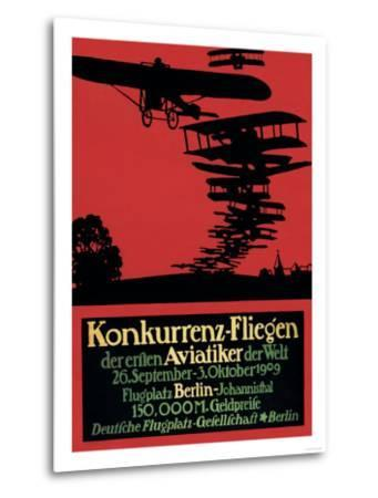 Berlin, Germany - Konkurrenz-Fliegen Airfield Promotional Poster