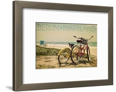Berlin, Maryland - Bicycles and Beach Scene