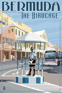 Bermuda - The Birdcage by Lantern Press