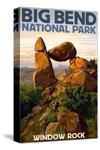 Big Bend National Park, Texas - Window Rock by Lantern Press