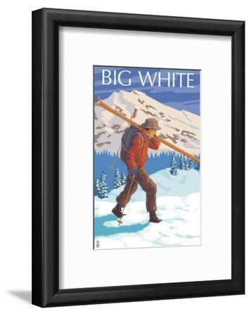 Big White - Skier Carrying