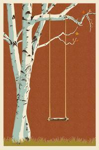 Birch Tree by Lantern Press