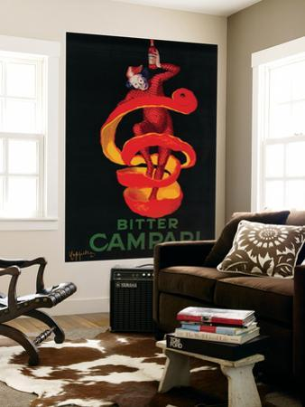 Bitter Campari Vintage Poster - Europe by Lantern Press