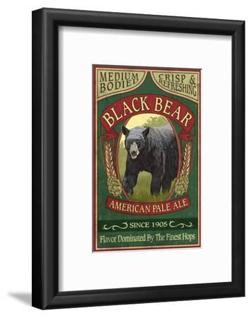 Black Bear Ale - Vintage Sign