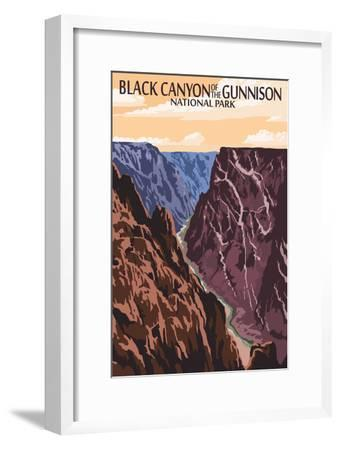 Black Canyon of the Gunnison National Park, Colorado - River and Cliffs