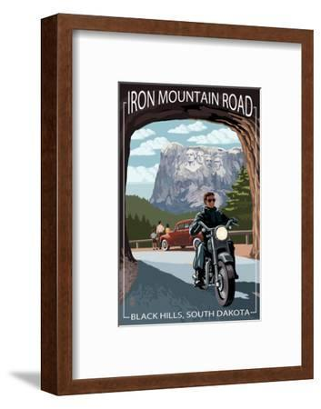 Black Hills, South Dakota - Iron Mountain Road Biker Scene