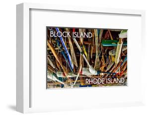 Block Island, Rhode Island - Paddle Photo by Lantern Press