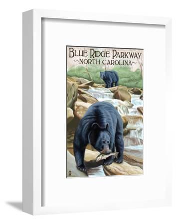 Blue Ridge Parkway, North Carolina - Black Bears Fishing
