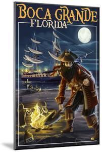 Boca Grande, Florida - Pirate by Lantern Press