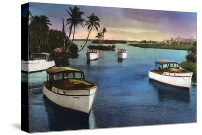 Boca Raton, Florida - Deep Sea Fishing Fleet Scene