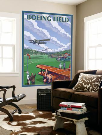 Boeing Field, Seattle, Washington