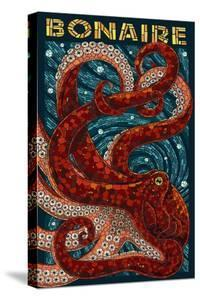 Bonaire, Dutch Caribbean - Octopus Mosaic by Lantern Press