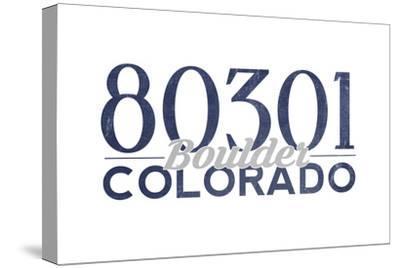 Boulder, Colorado - 80301 Zip Code (Blue)