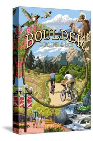 Boulder, Colorado - Montage Views
