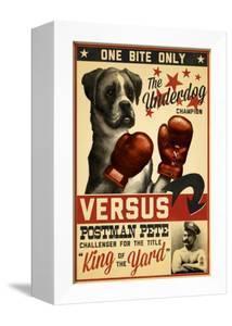 Boxer - Retro Boxing Ad by Lantern Press