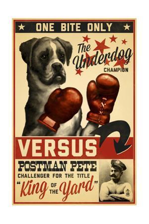 Boxer - Retro Boxing Ad
