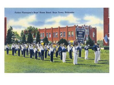 Boys Town, Nebraska - Father Flanagan's Boys' Home Marching Band