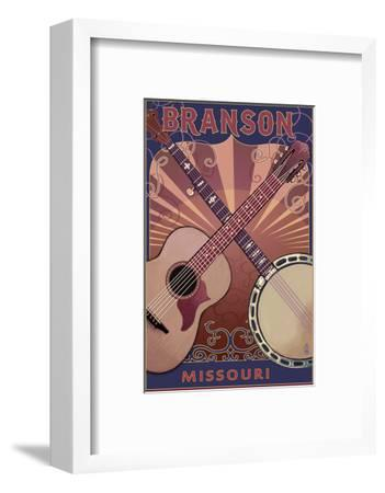 Branson, Missouri - Guitar and Banjo
