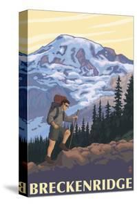 Breckenridge, Colorado - Mountain Hiker by Lantern Press