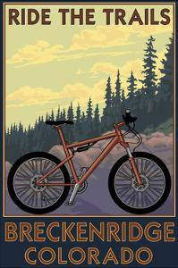 Breckenridge, Colorado - Ride the Trails by Lantern Press