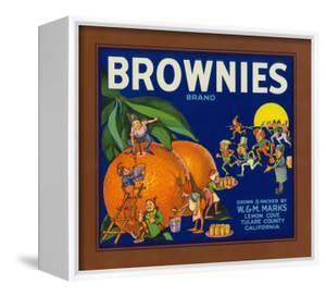 Brownies Brand Citrus Crate Label - Lemon Cove, CA by Lantern Press
