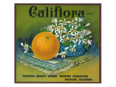 Califlora Orange Label - Riverside, CA