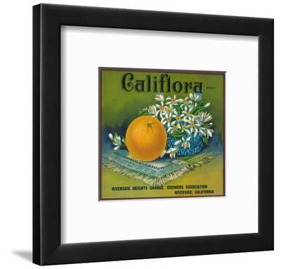 Califlora Orange Label - Riverside, CA
