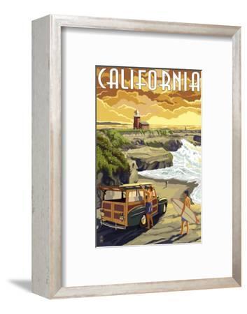 California Coast - Woody and Lighthouse