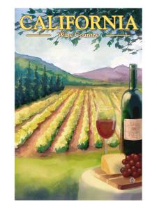 California Wine Country by Lantern Press