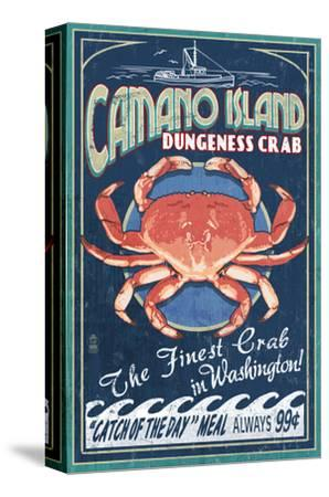 Camano Island, Washington - Dungeness Crab