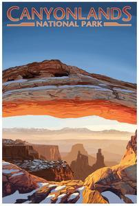 Canyonlands National Park, Utah - Arch by Lantern Press